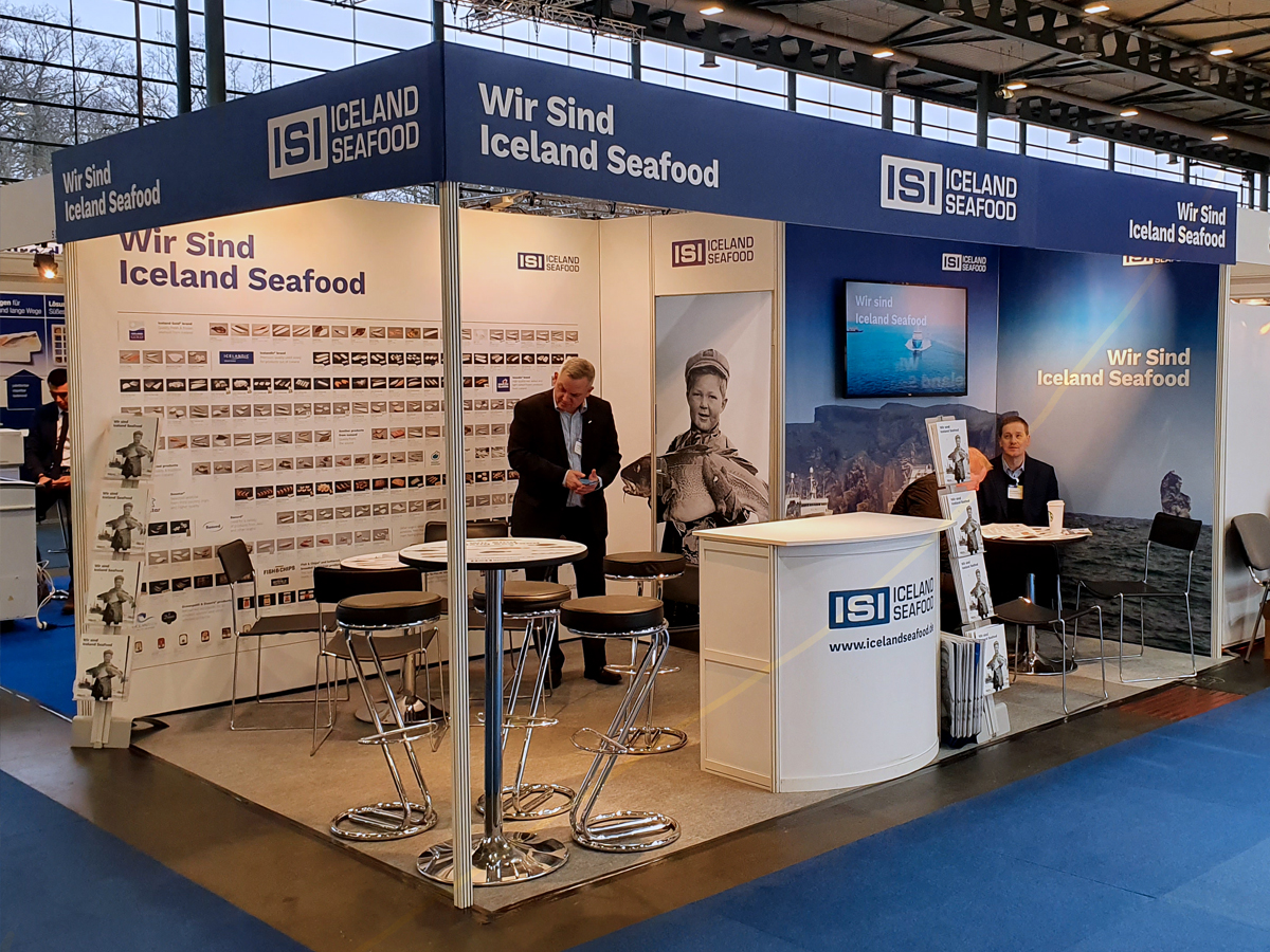 Iceland Seafood stand at FISH INTERNATIONAL EXHIBITION / Bremen 2020